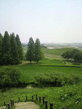 丸墓山古墳からの眺め2
